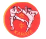 Patch - Red & Gold Karate