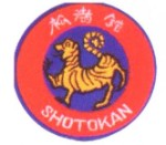 Patch - Red & Gold Shotokan