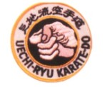 Patch - Black & Gold Karate