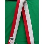 Ranche Belt- Red & White  - 1 3/4