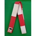 Master Belt-Red and White1 3/4