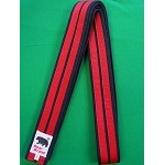 Master Belt-Navy Blue With two Red Stripe 2